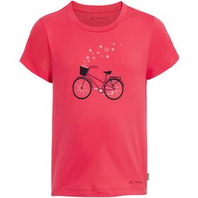 VAUDE Lezza T-Shirt Kinderen, bright pink/cranberry